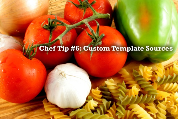 Tip 6: Custom Template Sources